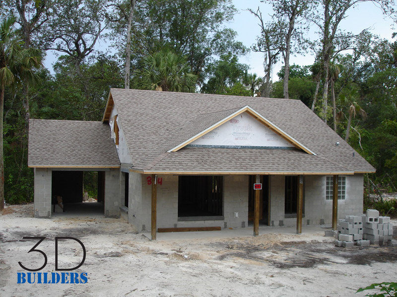 3d builders llc florida state certified residential for Affordable house construction